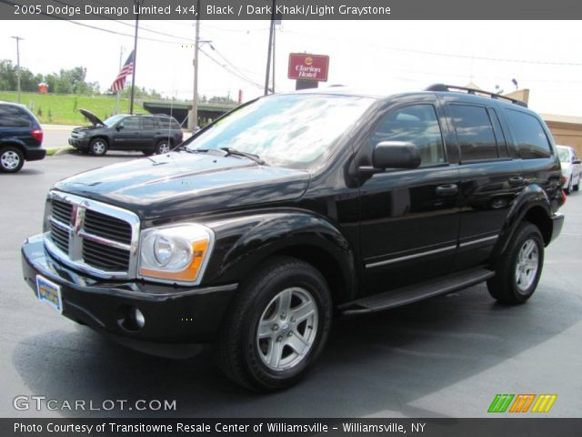 black 2005 dodge durango limited 4x4 dark khaki light. Black Bedroom Furniture Sets. Home Design Ideas