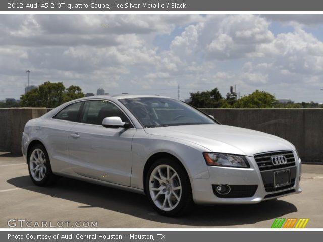 Ice Silver Metallic - 2012 Audi A5 2.0T quattro Coupe - Black Interior