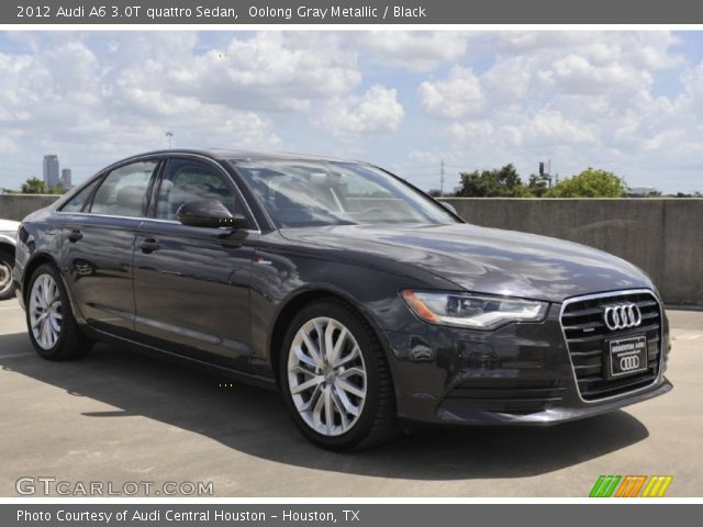 2012 Audi A6 3.0T quattro Sedan in Oolong Gray Metallic