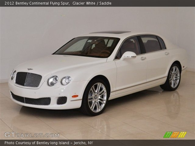 2012 Bentley Continental Flying Spur  in Glacier White