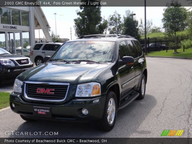polo green metallic 2003 gmc envoy slt 4x4 light oak. Black Bedroom Furniture Sets. Home Design Ideas