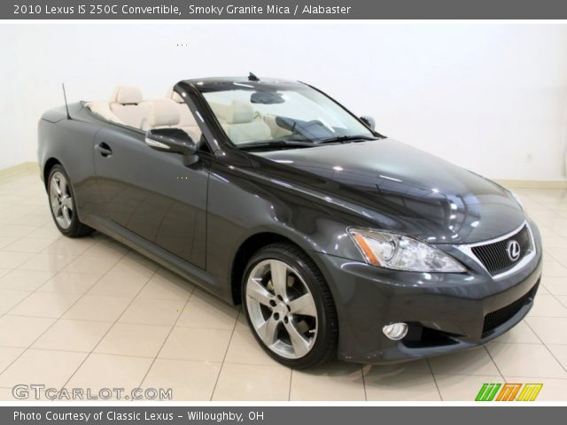 smoky granite mica 2010 lexus is 250c convertible. Black Bedroom Furniture Sets. Home Design Ideas