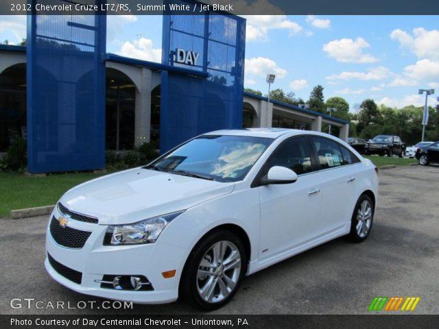 White Chevy Cruze >> Summit White 2012 Chevrolet Cruze Ltz Rs Jet Black