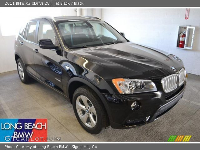 jet black 2011 bmw x3 xdrive 28i black interior. Black Bedroom Furniture Sets. Home Design Ideas