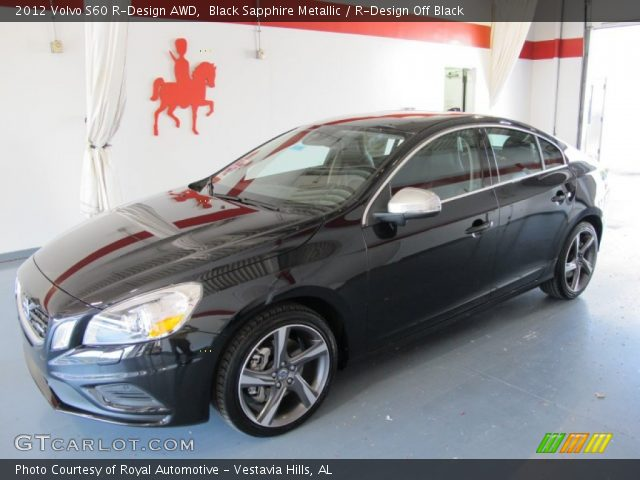 2012 Volvo S60 R-Design AWD in Black Sapphire Metallic