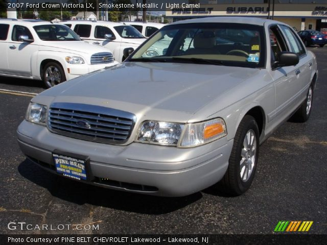 smokestone metallic 2007 ford crown victoria lx light. Black Bedroom Furniture Sets. Home Design Ideas