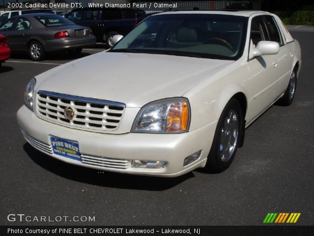 white diamond pearl 2002 cadillac deville dts oatmeal interior vehicle. Black Bedroom Furniture Sets. Home Design Ideas