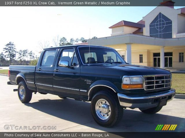 vermont green metallic 1997 ford f250 xl crew cab. Black Bedroom Furniture Sets. Home Design Ideas