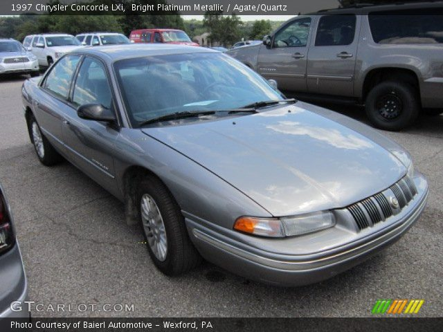 1997 Chrysler Concorde LXi in Bright Platinum Metallic