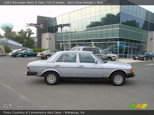 1983 Mercedes-Benz E Class 300 D Sedan in Astro Silver Metallic