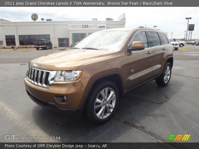 2011 Jeep Grand Cherokee Laredo X 70th Anniversary in Bronze Star Pearl