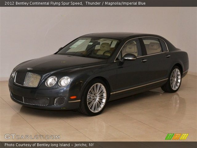2012 Bentley Continental Flying Spur Speed in Thunder