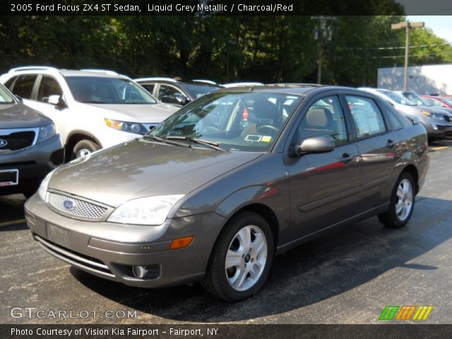 liquid grey metallic 2005 ford focus zx4 st sedan. Black Bedroom Furniture Sets. Home Design Ideas