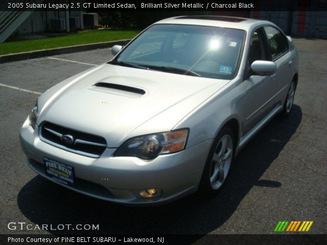 brilliant silver metallic 2005 subaru legacy 2 5 gt. Black Bedroom Furniture Sets. Home Design Ideas