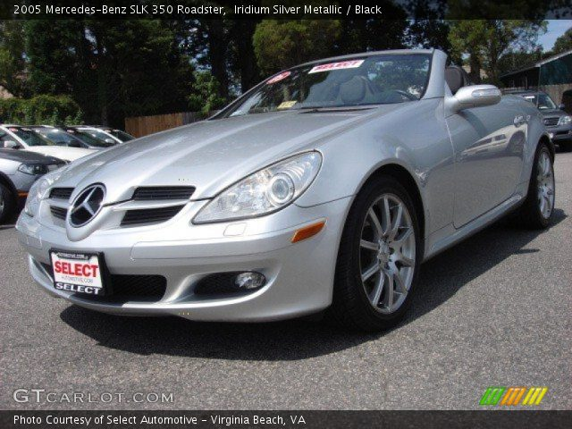 iridium silver metallic 2005 mercedes benz slk 350. Black Bedroom Furniture Sets. Home Design Ideas