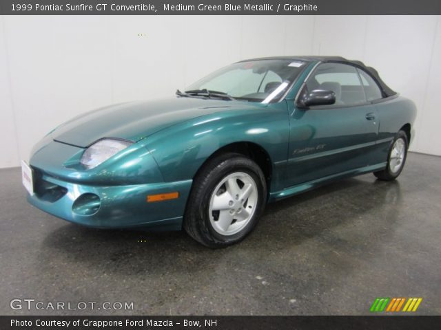 medium green blue metallic 1999 pontiac sunfire gt. Black Bedroom Furniture Sets. Home Design Ideas