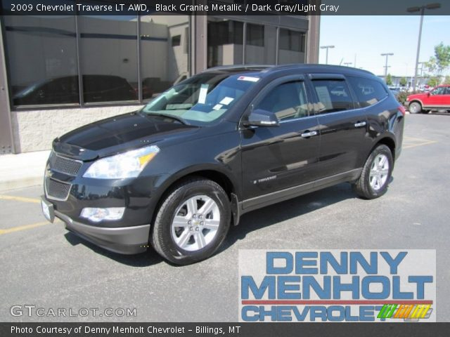 Black Granite Metallic - 2009 Chevrolet Traverse LT AWD ...