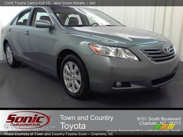 aloe green metallic 2008 toyota camry xle v6 ash interior vehicle archive. Black Bedroom Furniture Sets. Home Design Ideas