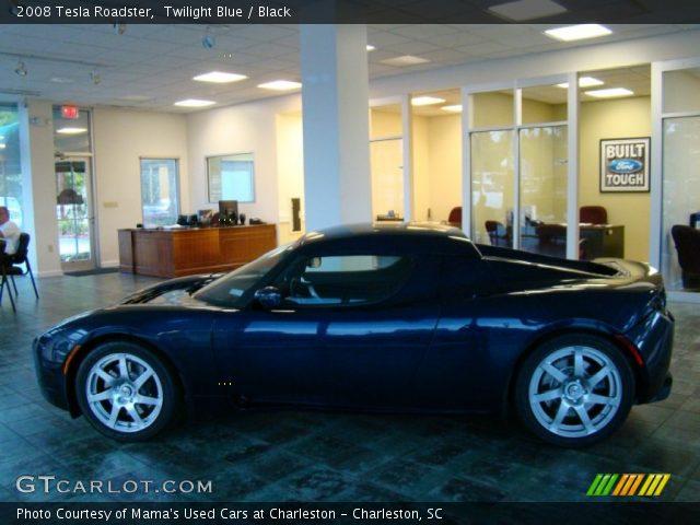 2008 Tesla Roadster  in Twilight Blue