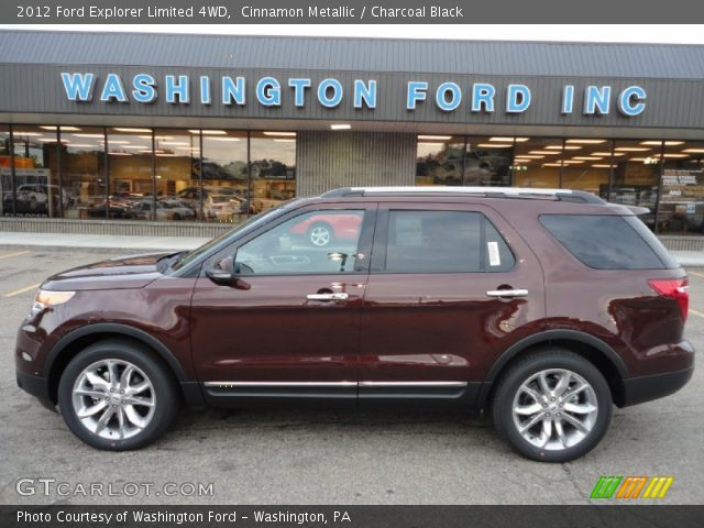 Hoffman Ford Harrisburg Pa Ford Explorer Limited 4WD in Cinnamon Metallic. Click to see large