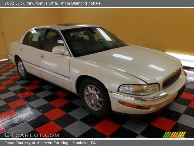 white diamond 2002 buick park avenue ultra shale interior vehicle archive. Black Bedroom Furniture Sets. Home Design Ideas