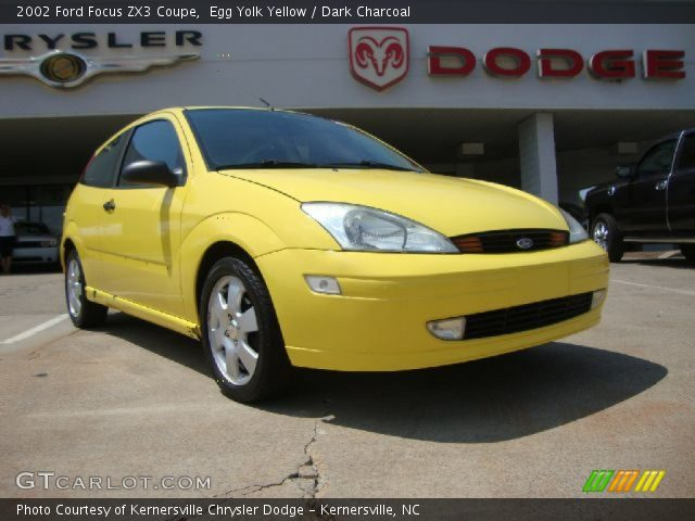 egg yolk yellow 2002 ford focus zx3 coupe dark. Black Bedroom Furniture Sets. Home Design Ideas