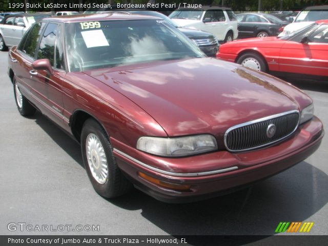 bordeaux red pearl 1999 buick lesabre limited sedan taupe interior vehicle. Black Bedroom Furniture Sets. Home Design Ideas