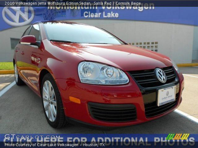 salsa red 2010 volkswagen jetta wolfsburg edition sedan cornsilk beige interior gtcarlot. Black Bedroom Furniture Sets. Home Design Ideas