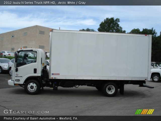 2012 Isuzu N Series Truck NPR HD in Arctic White