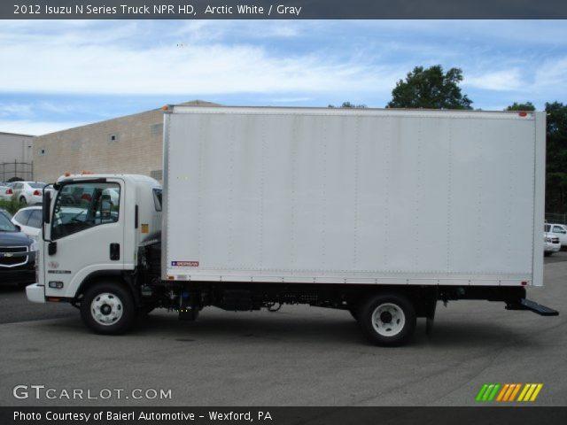 2012 Isuzu N Series Truck NPR HD in Arctic White