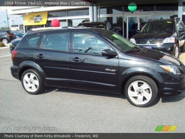 2004 Pontiac Vibe GT in Neptune Blue