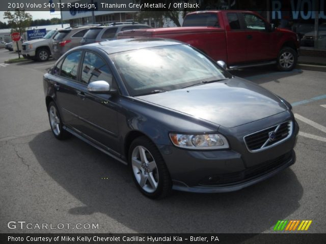 titanium grey metallic 2010 volvo s40 t5 r design off. Black Bedroom Furniture Sets. Home Design Ideas