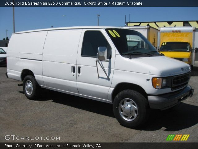 oxford white 2000 ford e series van e350 commercial. Black Bedroom Furniture Sets. Home Design Ideas