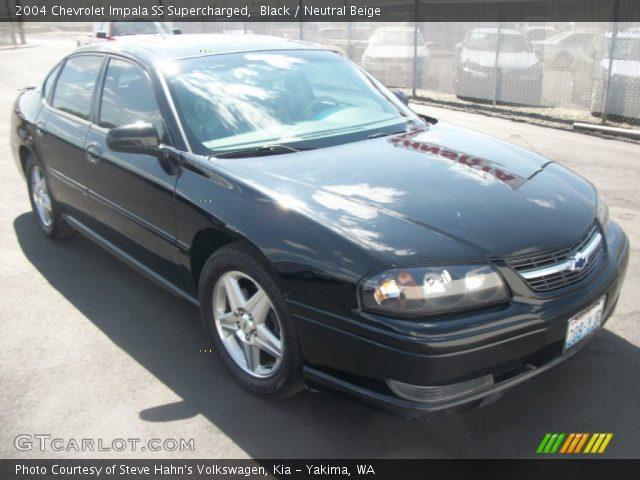 black 2004 chevrolet impala ss supercharged neutral beige interior vehicle. Black Bedroom Furniture Sets. Home Design Ideas