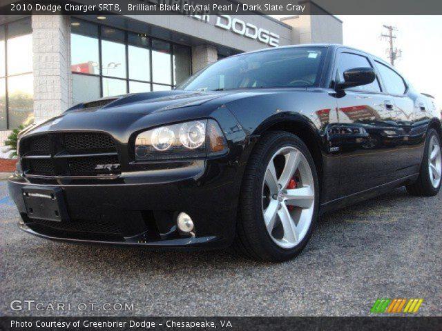 2010 dodge charger srt8 in brilliant black crystal pearl - Dodge Charger 2010 Srt8