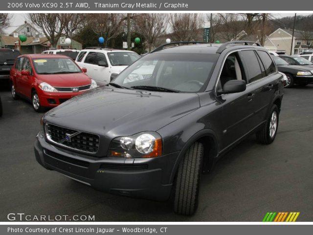 titanium gray metallic 2006 volvo xc90 2 5t awd graphite interior vehicle. Black Bedroom Furniture Sets. Home Design Ideas