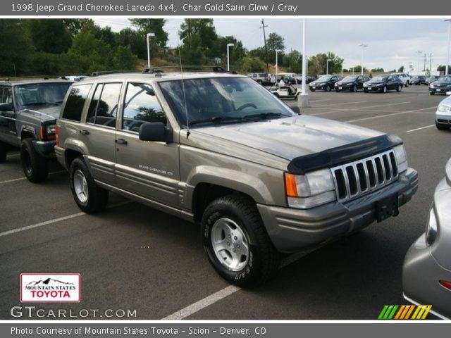 Char gold satin glow 1998 jeep grand cherokee laredo 4x4 gray interior for 1998 jeep grand cherokee interior