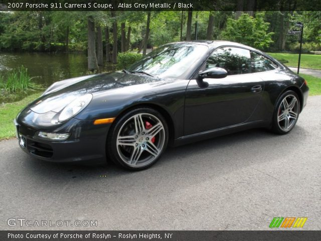 2007 Porsche 911 Carrera S Coupe in Atlas Grey Metallic
