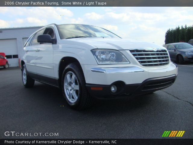 Stone White 2006 Chrysler Pacifica Touring Light Taupe Interior Vehicle