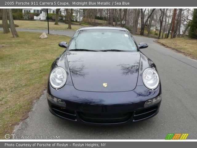 2005 Porsche 911 Carrera S Coupe in Midnight Blue Metallic
