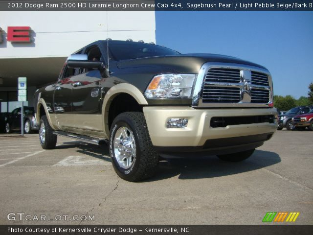 Sagebrush pearl 2012 dodge ram 2500 hd laramie longhorn - Dodge ram 2500 laramie longhorn interior ...