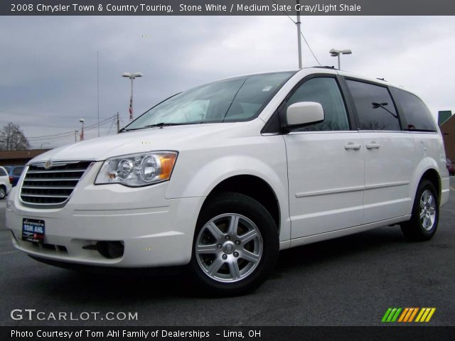 Stone white 2008 chrysler town country touring for Stone s town country motors