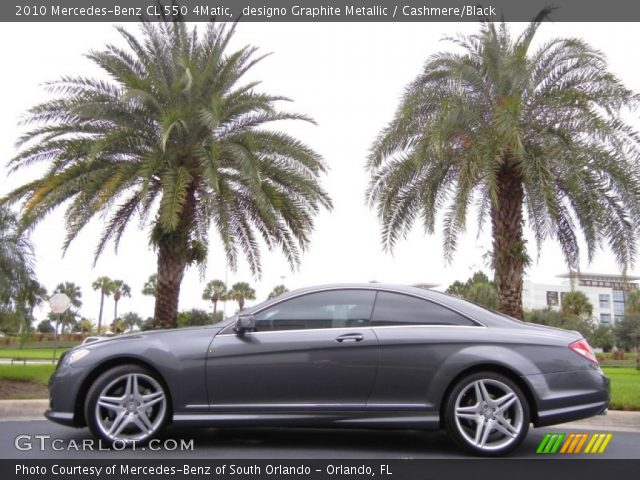 2010 Mercedes-Benz CL 550 4Matic in designo Graphite Metallic