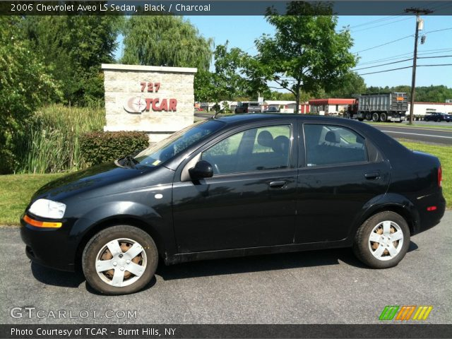 2006 Chevrolet Aveo LS Sedan in Black