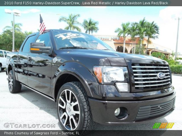 2010 Ford F150 Harley-Davidson SuperCrew in Lava Red Metallic