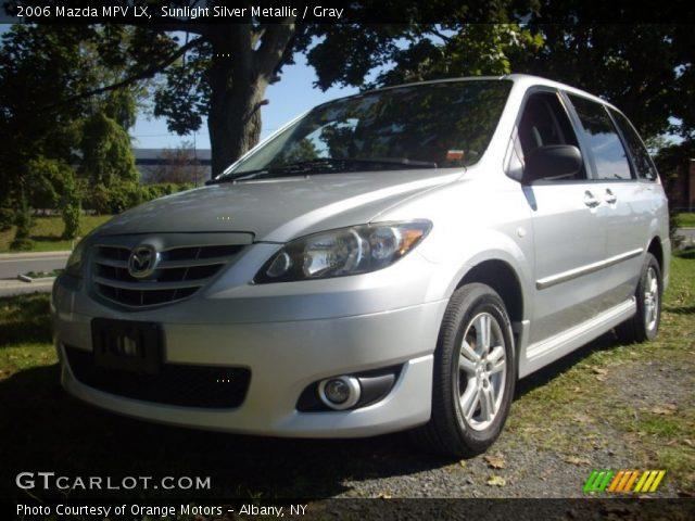 2006 Mazda MPV LX in Sunlight Silver Metallic
