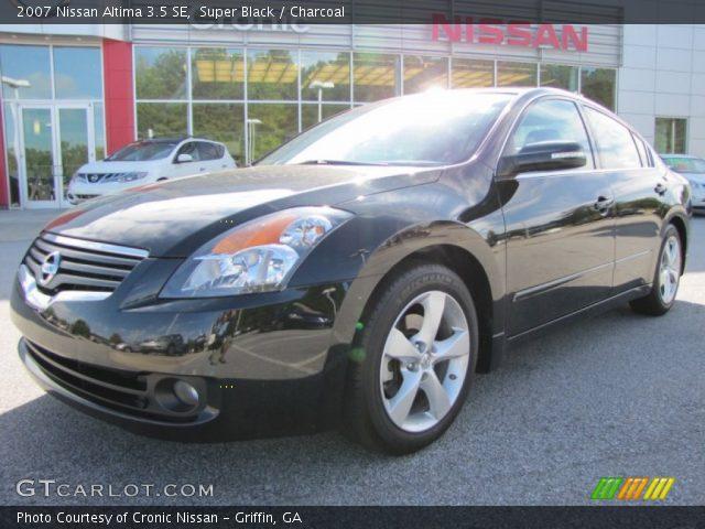 Nissan Altima 2007 Black Super Black - 2007 Nis...