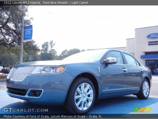 steel blue metallic 2012 lincoln mkz hybrid light. Black Bedroom Furniture Sets. Home Design Ideas
