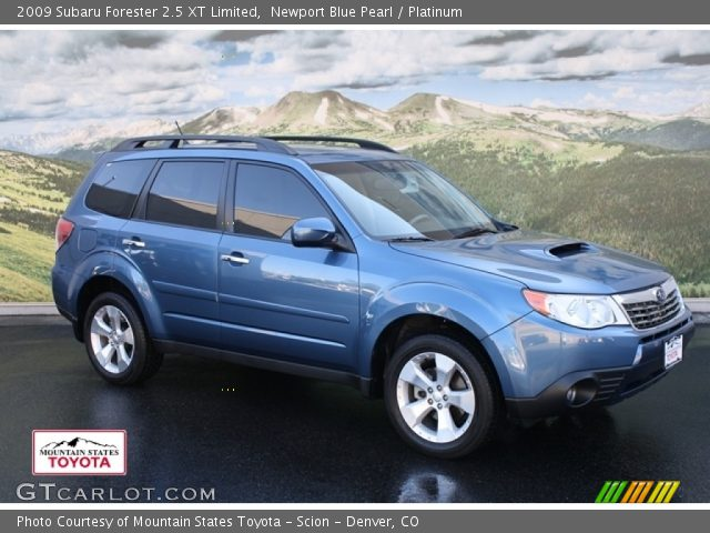 newport blue pearl 2009 subaru forester 2 5 xt limited. Black Bedroom Furniture Sets. Home Design Ideas