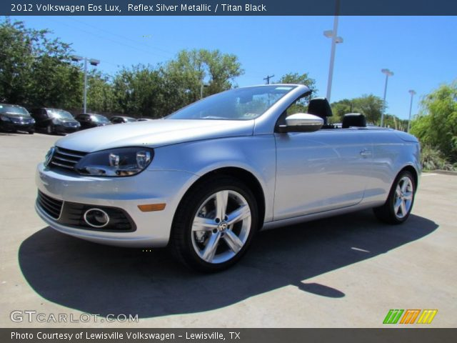 reflex silver metallic 2012 volkswagen eos lux titan. Black Bedroom Furniture Sets. Home Design Ideas